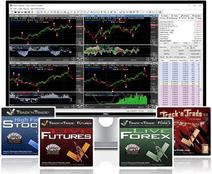 Track 'n Trade Stocks Futures and Forex Downloads